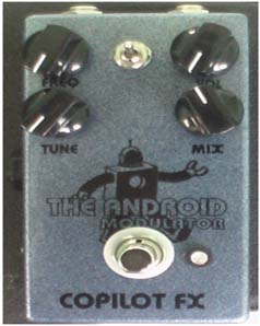 The Android Ring Modulator Modulator :  android ringmod pedal fx